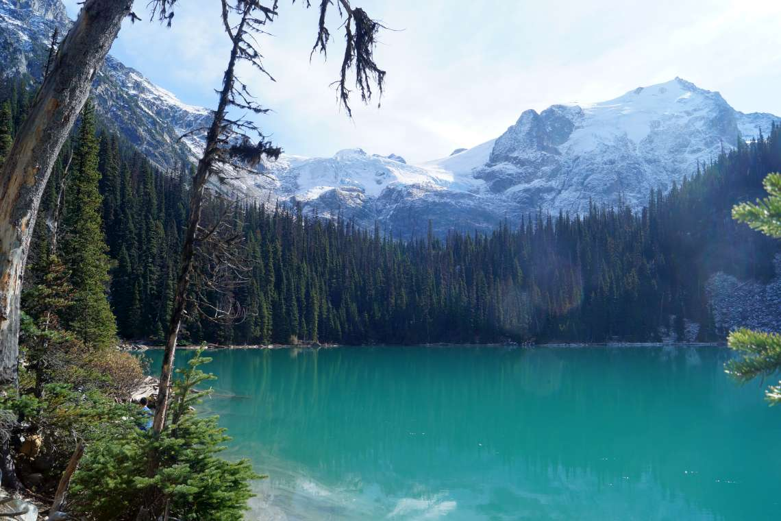 Joffre Lakes Provincial Park in British Columbia, Nähe Vancouver und Whistler.